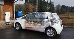 Les premières voitures électriques sont arrivées à la coopérative forestière CFBL