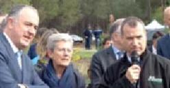 ALLIANCE FORÊTS BOIS ACCUEILLE LE MINISTRE DE L'AGRICULTURE ET DE L'ALIMENTATION