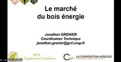 «Le bois énergie» : retrouvez le replay du Wébinaire LCA-UCFF